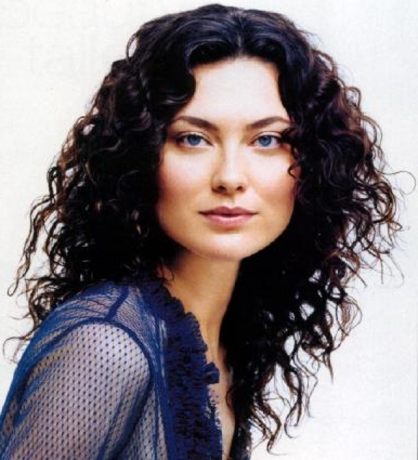 Long Curly Shag Haircut | Hair Styles | Pinterest | Long Curly In Most Popular Medium Shaggy Hairstyles For Curly Hair (View 7 of 15)