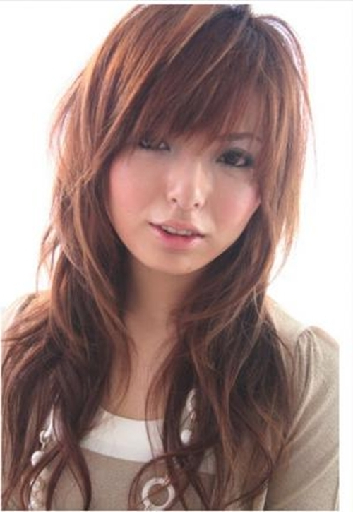 Long Hairstyles For Round Faces With Bangs Wat Do U Think With Regard To Most Recent Long Shaggy Hairstyles For Round Faces (View 5 of 15)