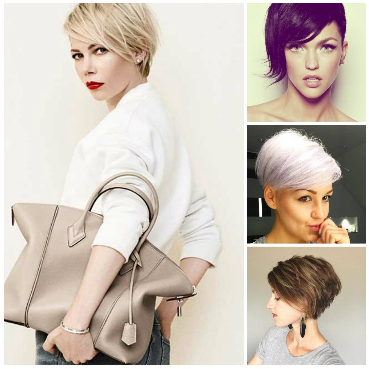 Long Pixie Haircuts | 2017 Haircuts, Hairstyles And Hair Colors Regarding 2018 Long Pixie Hairstyles For Women (View 9 of 15)