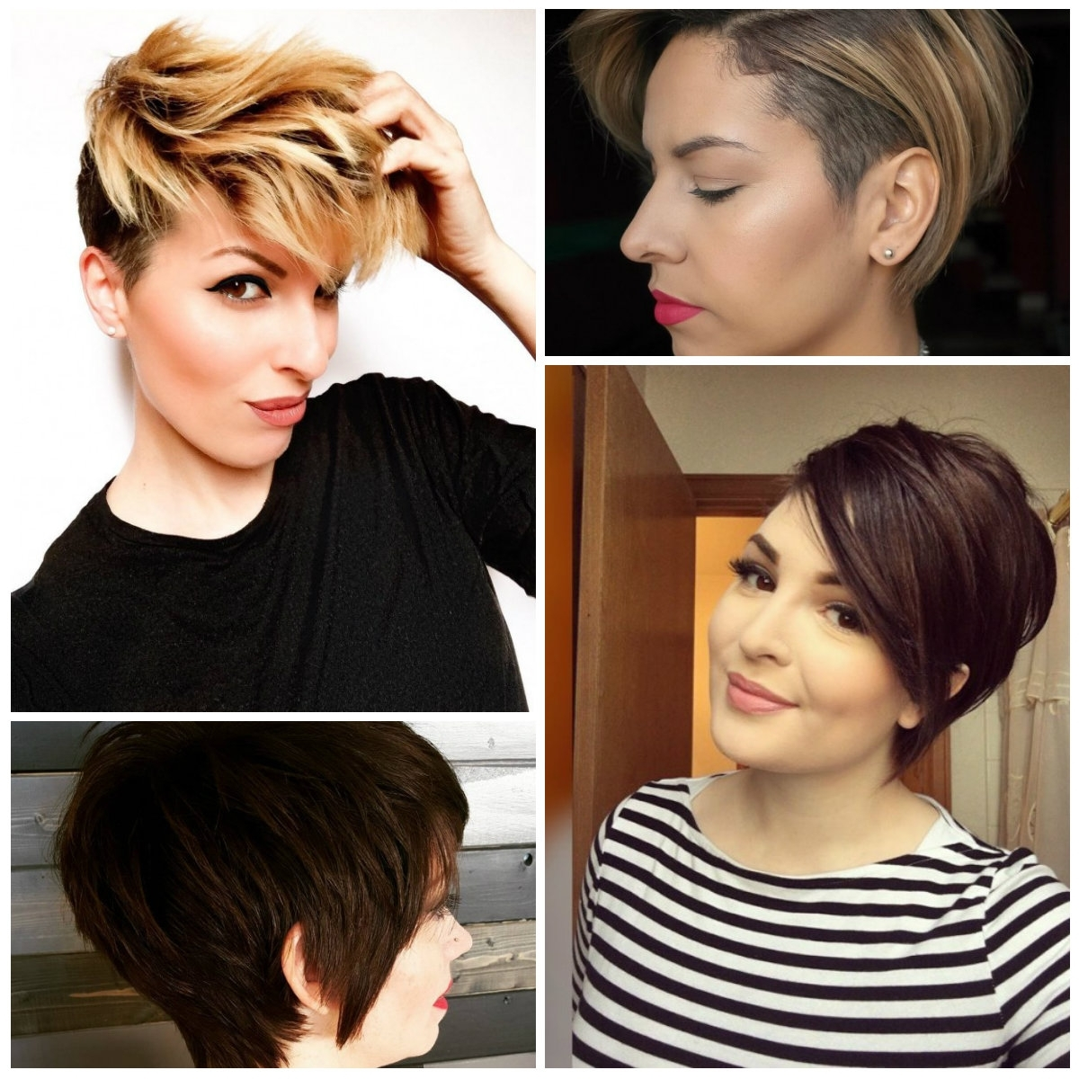 Long Pixie Haircuts For Ladies – Haircuts And Hairstyles For 2017 Intended For Most Recent Pixie Hairstyles With Long Sides (View 14 of 15)