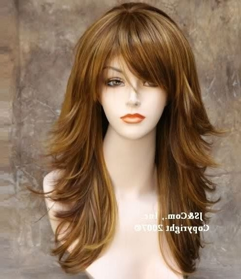 Featured Photo of Layered Shaggy Hairstyles For Long Hair