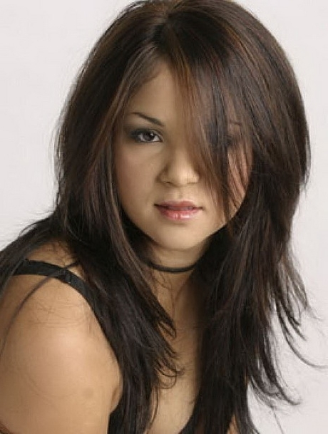 Long Shaggy Hairstyles | Long Haircuts For Round Faces Pinterest With Most Recent Long Shaggy Hairstyles For Round Faces (View 3 of 15)