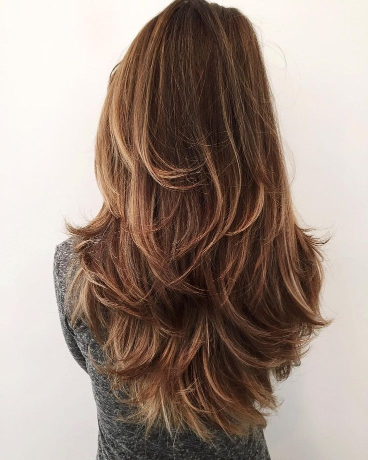 Photo Gallery Of Shaggy Layered Hairstyles For Long Hair Showing 12