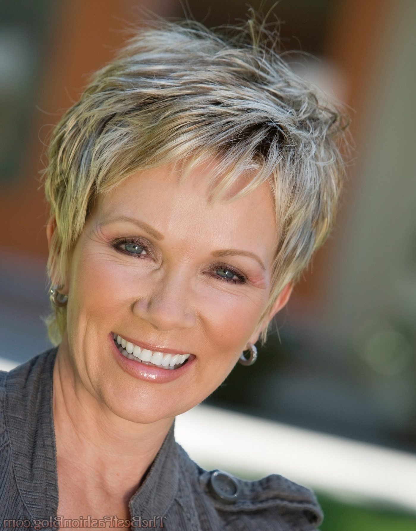 View Photos Of Short Pixie Hairstyles For Older Women Showing 3 Of