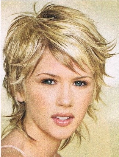 Photos of Short Shaggy Hairstyles Thin Hair (Showing 12 of 15 Photos)