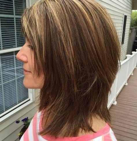 Medium Shaggy Haircuts | Hair | Pinterest | Medium Shaggy Haircuts Pertaining To Recent Medium Shaggy Haircuts With Bangs (View 15 of 15)