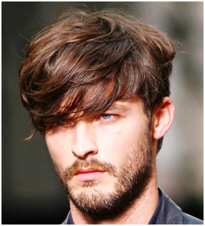 Mens Hairstyles Long Thick Wavy Hair | Men's Apparel | Pinterest Inside Recent Mens Shaggy Hairstyles Thick Hair (View 8 of 15)