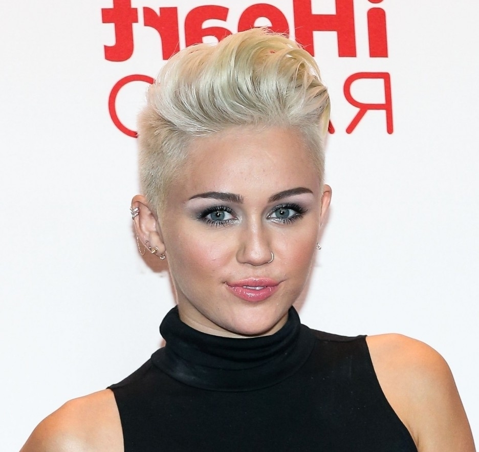 Miley Cyrus Short Hairstyle 02 – Hairstyles, Easy Hairstyles For Girls Intended For Most Recent Miley Cyrus Pixie Hairstyles (View 2 of 15)