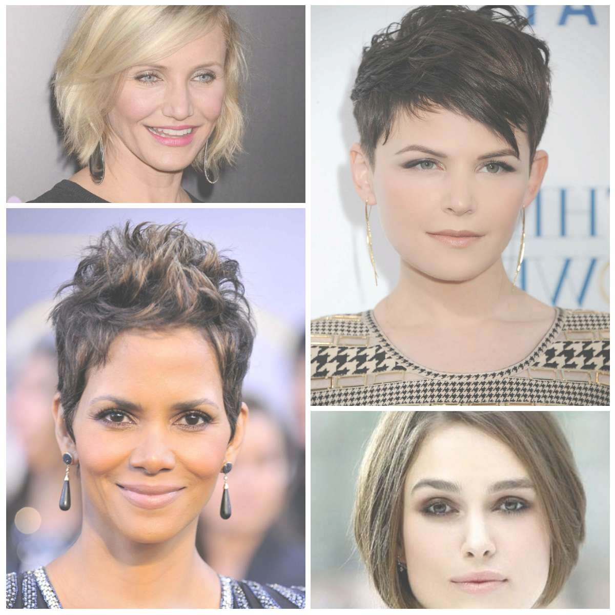 Photo Gallery Of Pixie Hairstyles For Oval Face Shape Showing 15 Of