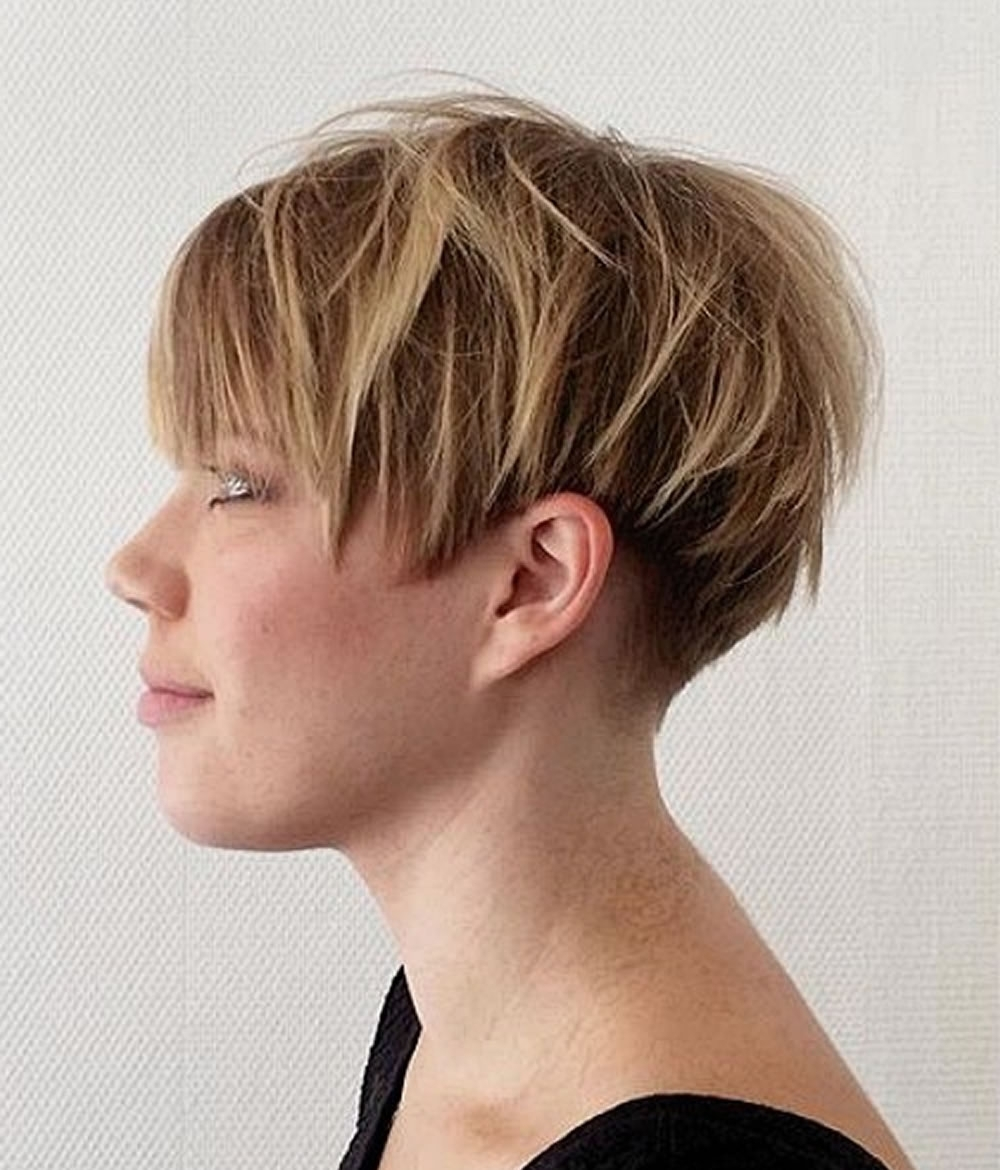 Overwhelming Short Choppy Haircuts For 2018-2019 (Bob+Pixie Hair with Best and Newest Choppy Pixie Hairstyles