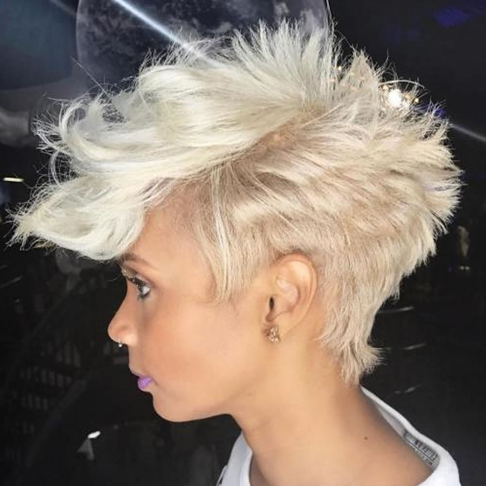 Overwhelming Short Choppy Haircuts For 2018-2019 (Bob+Pixie Hair within Most Recently Short Choppy Pixie Hairstyles