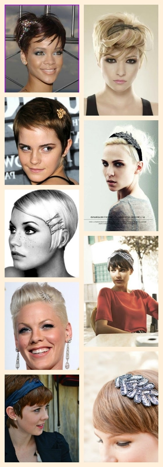 Perfect Accessories For Your Pixie – A Beautiful Little Life In Most Popular Pixie Hairstyles Accessories (View 6 of 15)