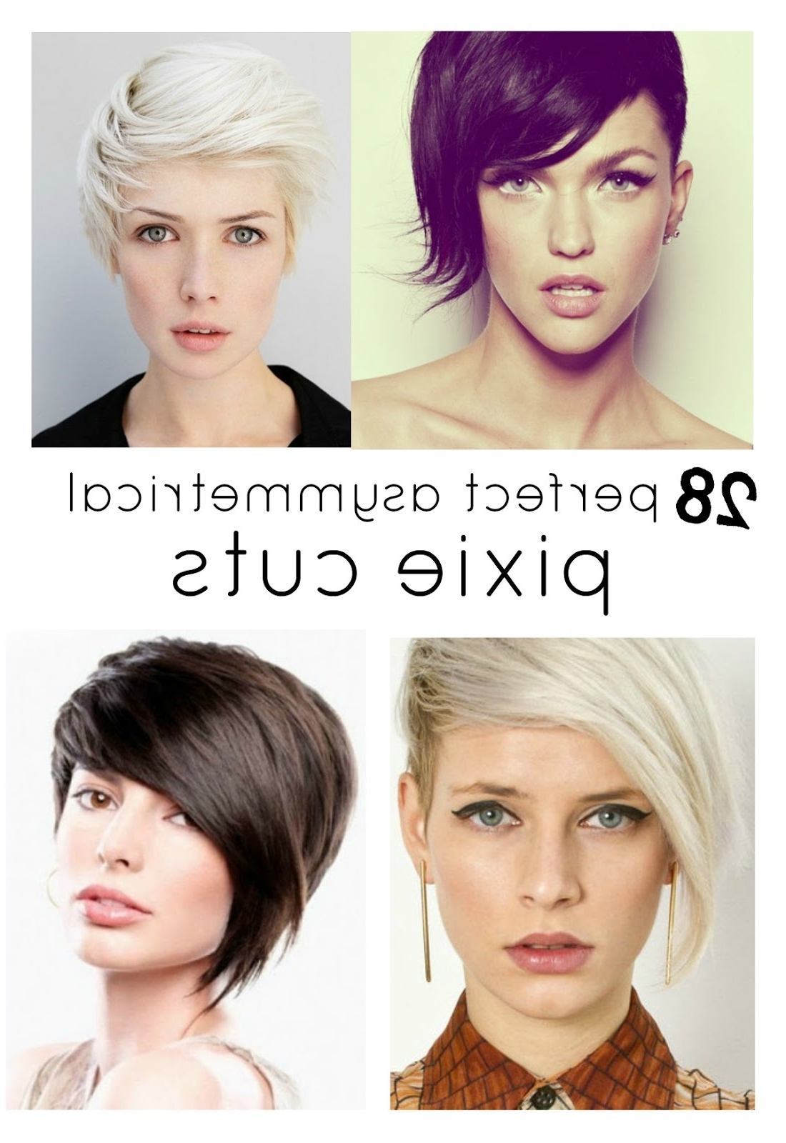 View Photos Of Short Asymmetrical Pixie Hairstyles Showing 5 Of 15