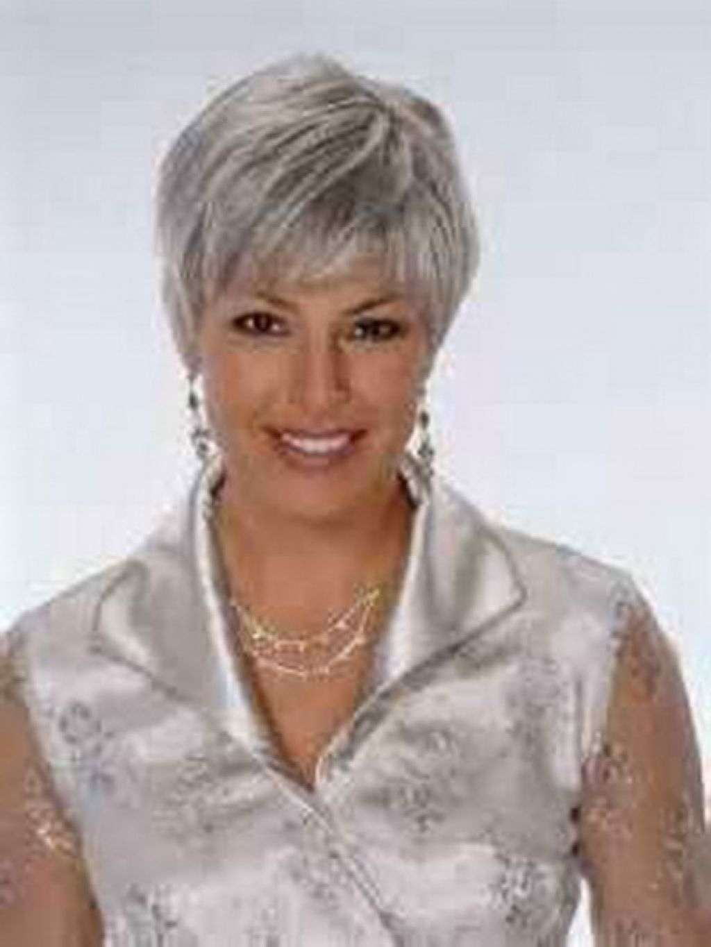 Pictures Of Short Hairstyles For Gray Hair – Women Medium Haircut Pertaining To Newest Gray Hair Pixie Hairstyles (View 12 of 15)