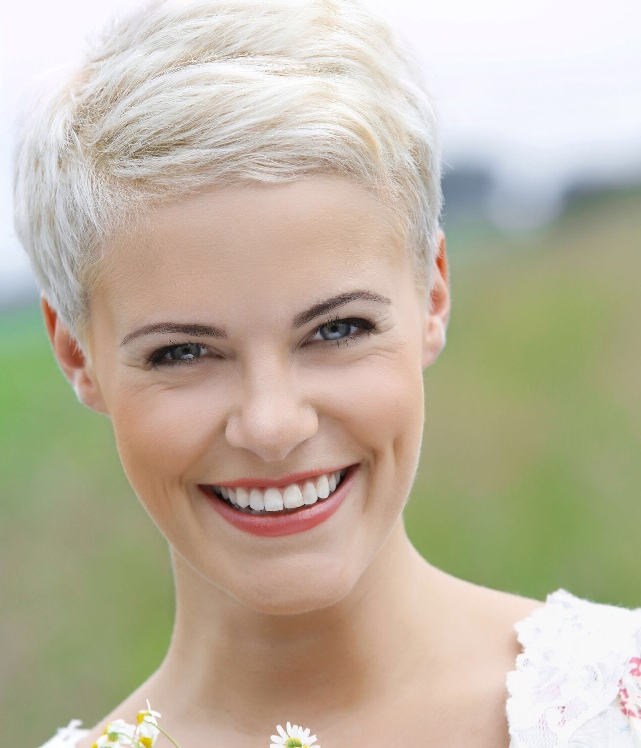 Pinchristy Watts On It's Only Hair | Pinterest | Short Hair Inside Current Short Blonde Pixie Hairstyles (View 8 of 15)