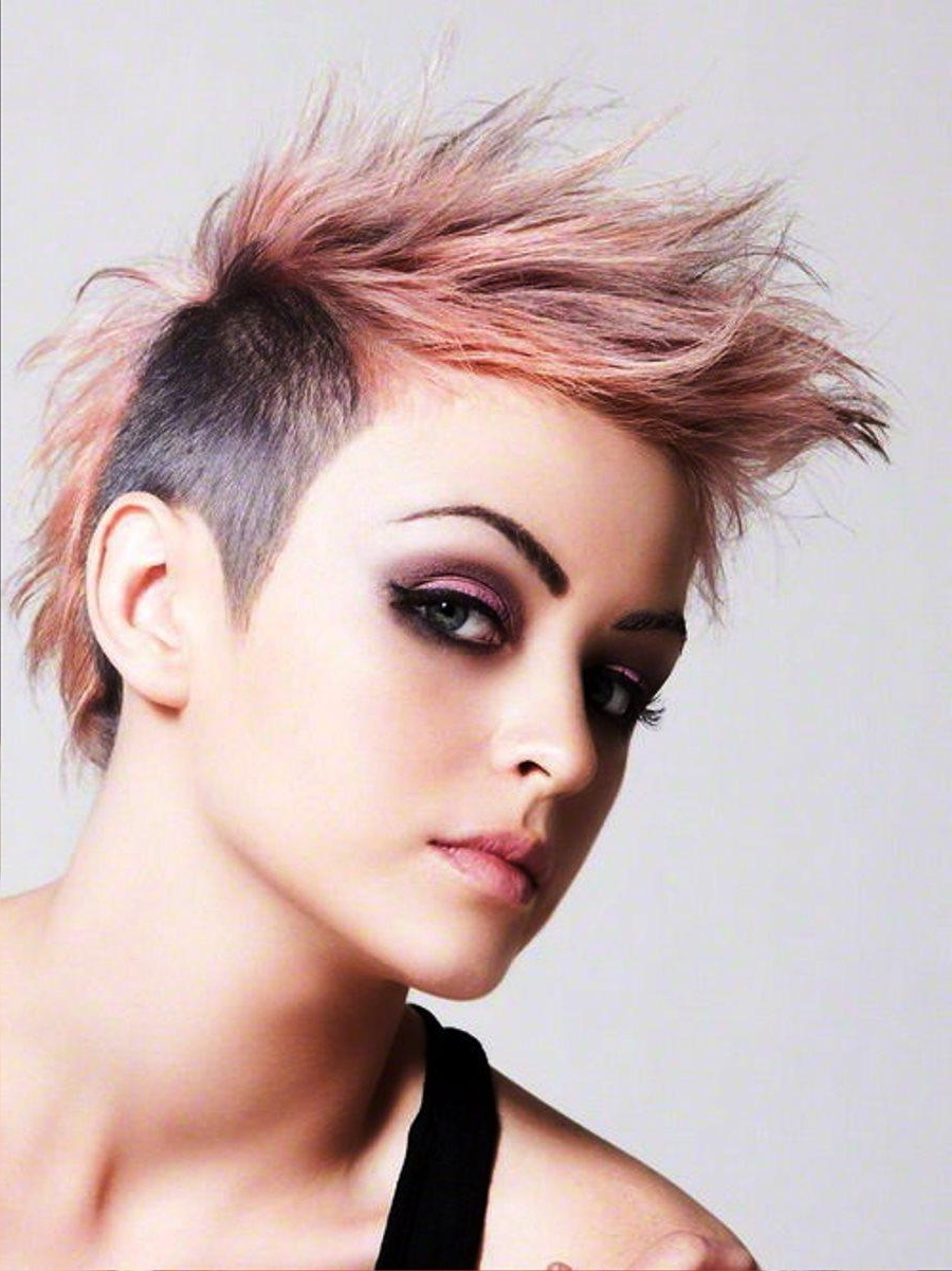 Pinks Hairstyles Over The Years — Fitfru Style Pertaining To 2018 Pink Pixie Hairstyles (View 11 of 15)