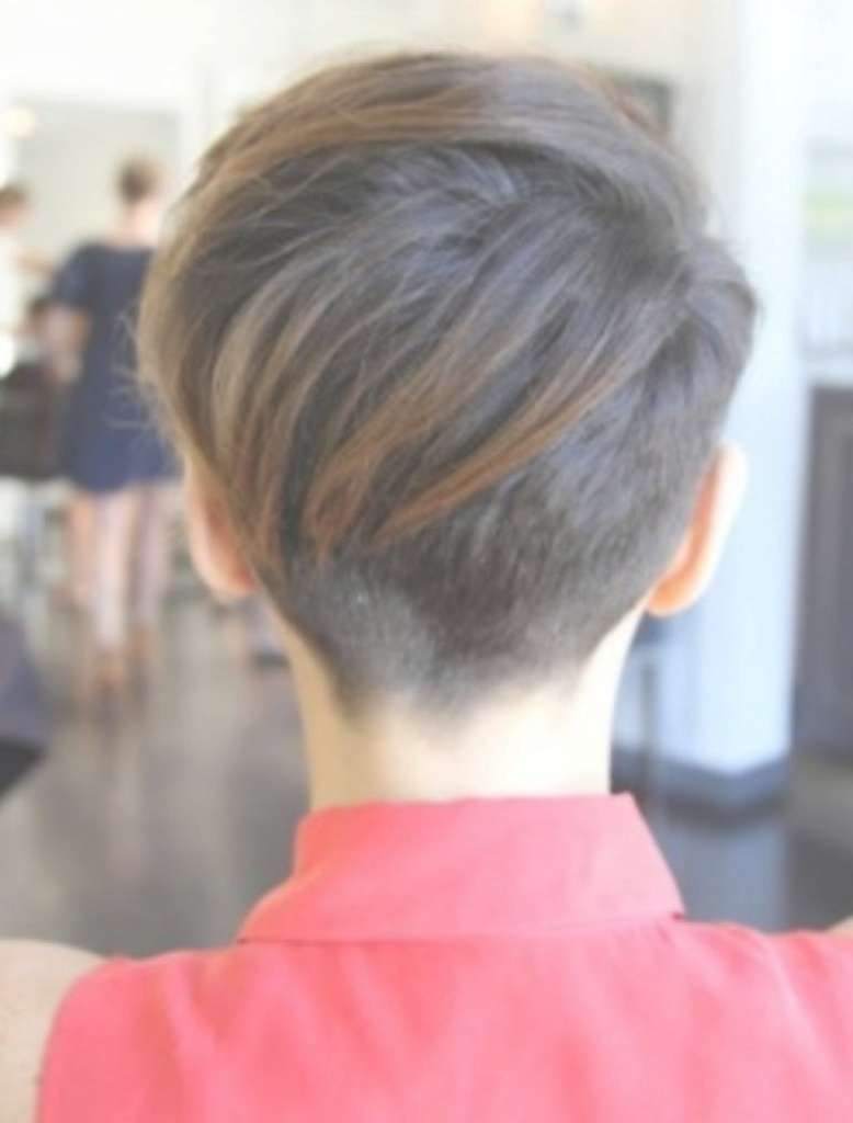 Pixie Cut Back View 73 With Pixie Cut Back View – Hairstyles Ideas With Newest Back Views Of Pixie Hairstyles (View 4 of 15)