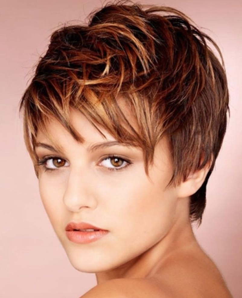 Pixie Cuts: 13 Hottest Pixie Hairstyles And Haircuts For Women Regarding Current Pixie Hairstyles With Highlights (View 6 of 15)