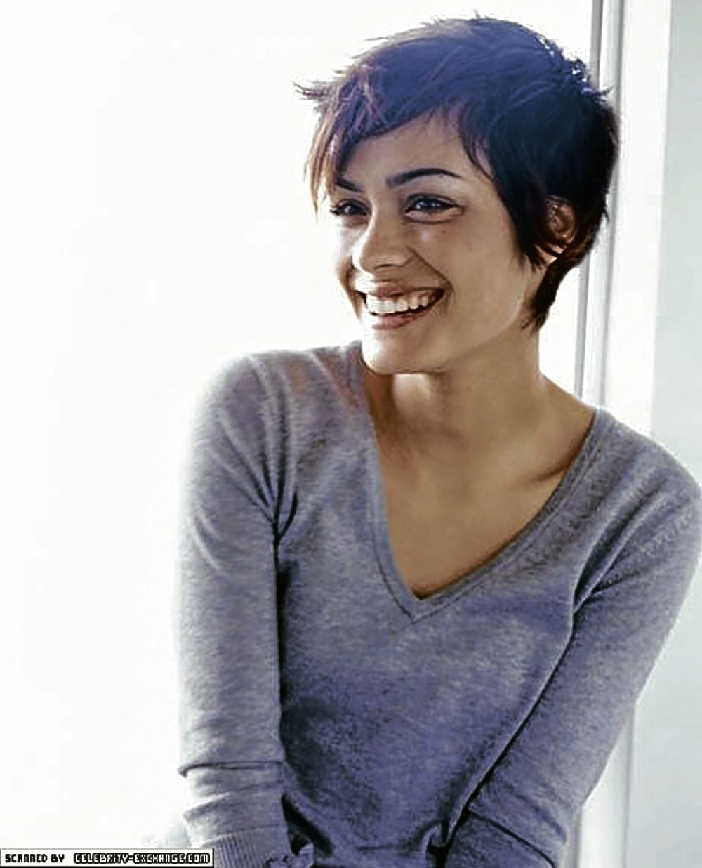 Pixie Haircut For Thick Curly Hair 1000+ Images About Pixie Cut On Inside Most Popular Pixie Hairstyles For Wavy Hair (View 6 of 15)