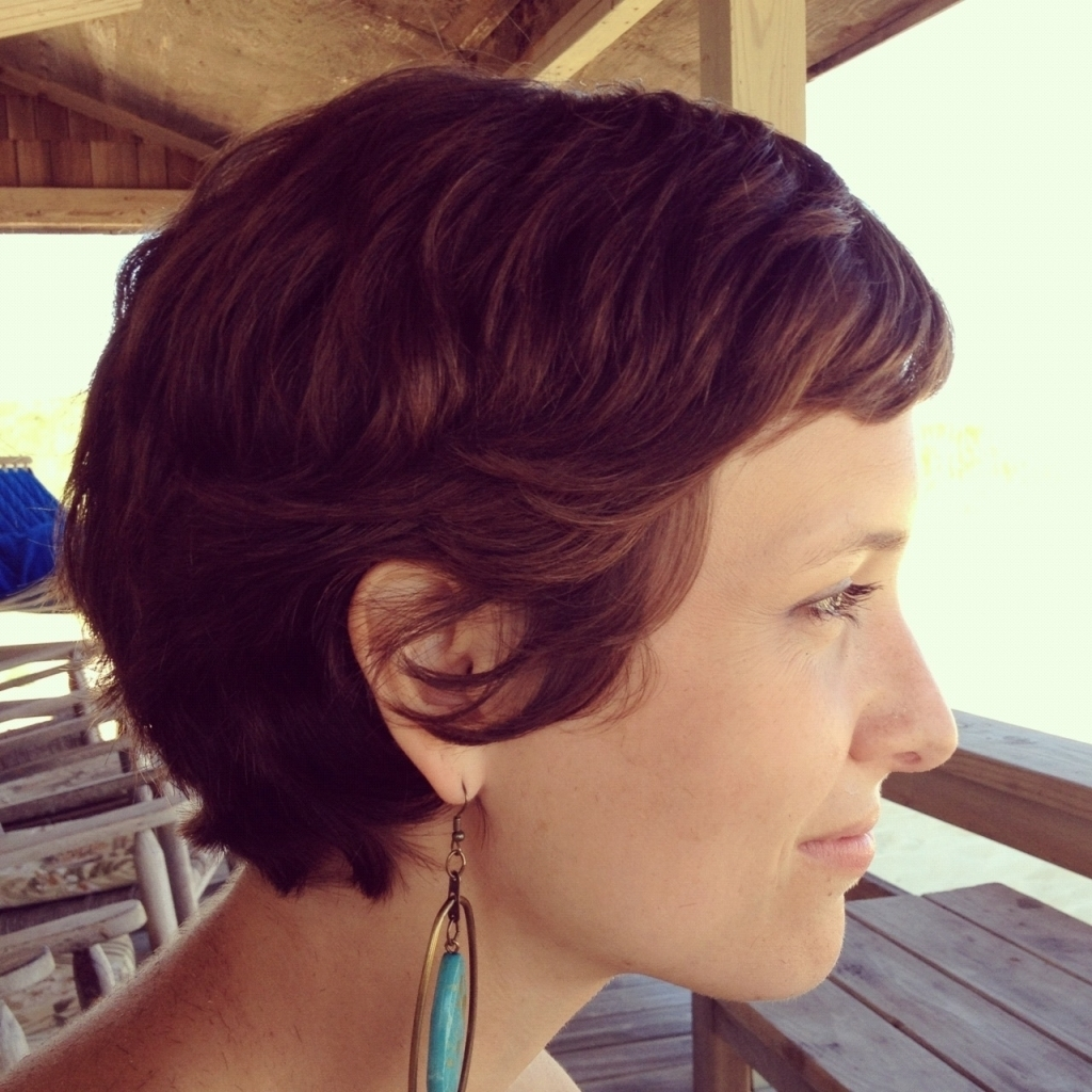 Pixie Haircut For Thick Curly Hair Pixie Style Haircuts For Wavy Pertaining To Recent Pixie Hairstyles For Thick Coarse Hair (View 8 of 16)