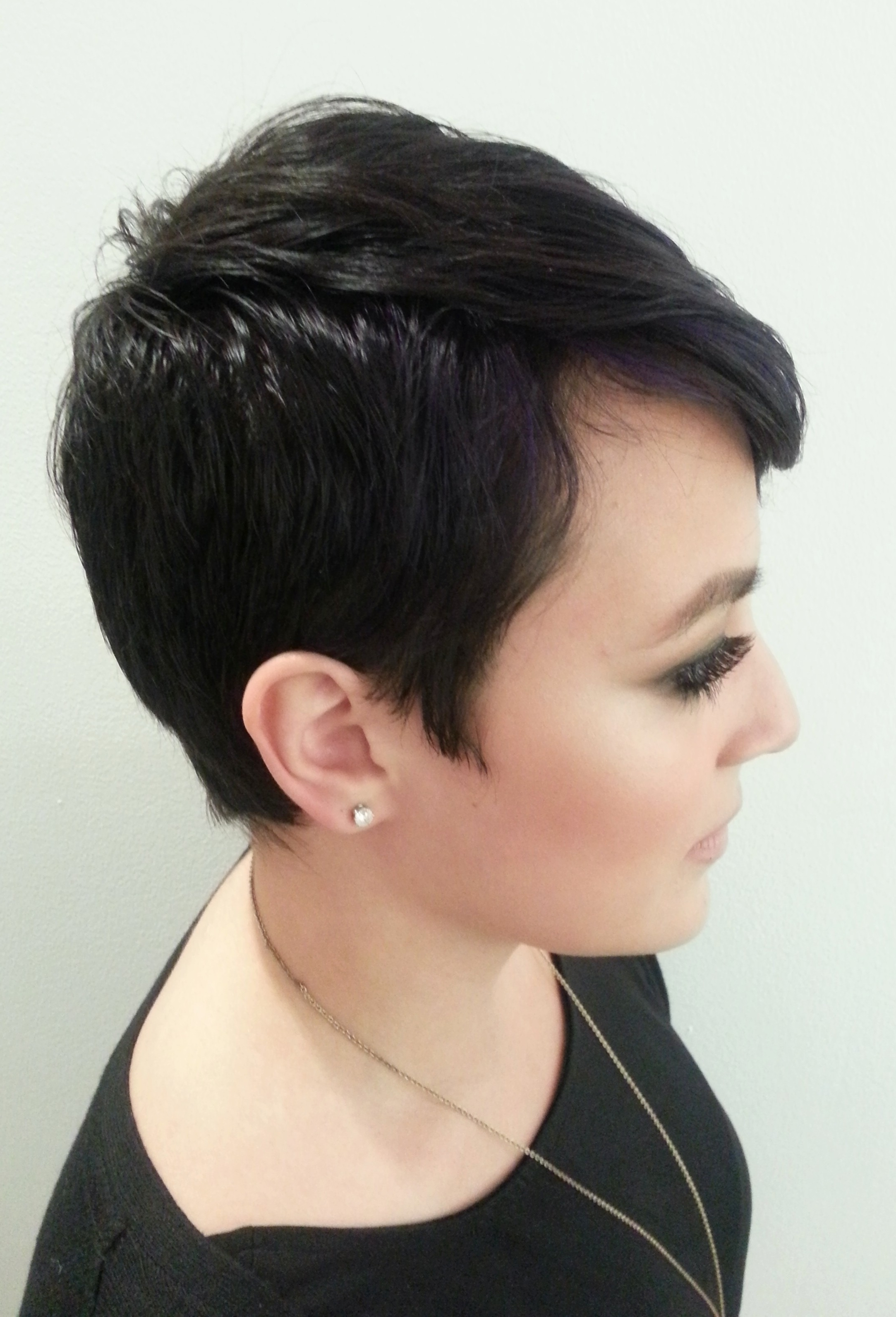 Explore Gallery Of Pixie Hairstyles For Thick Curly Hair Showing 10