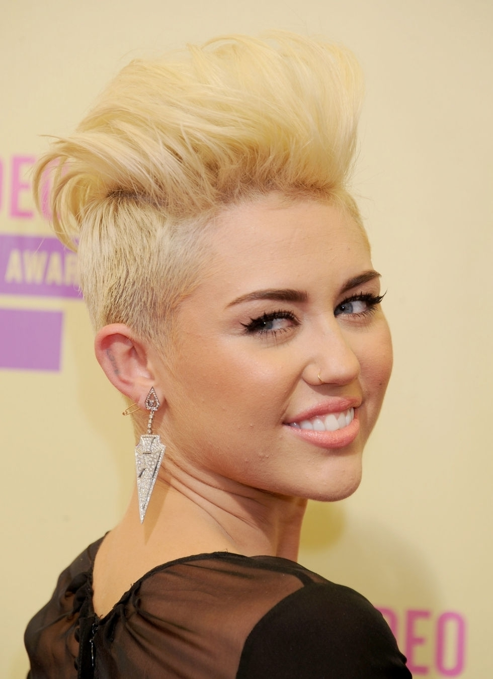 Pixie Haircut Miley Cyrus Pixie Cut Hairstyle Ideas Iconic Pixie Cuts For Latest Miley Cyrus Pixie Hairstyles (View 9 of 15)