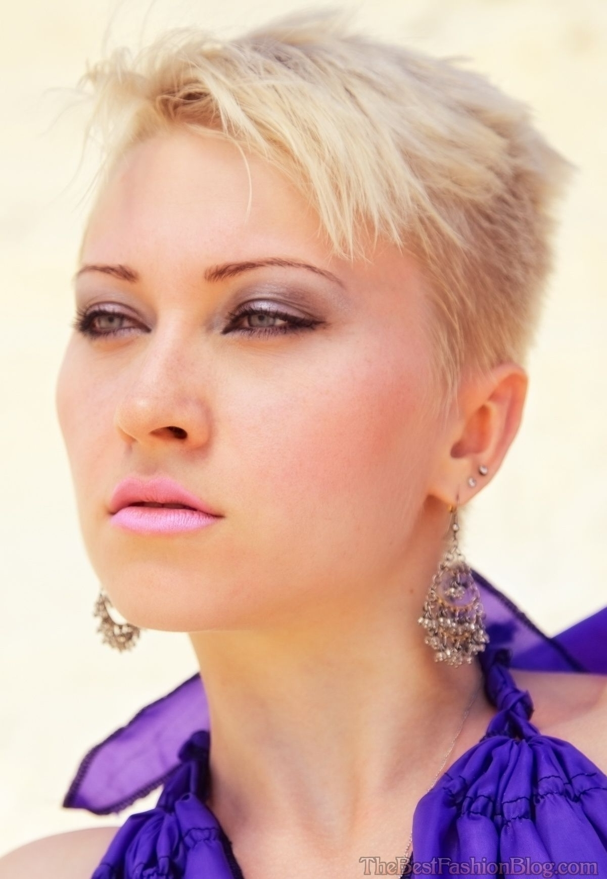 Showing Photos Of Pixie Hairstyles With Shaved Sides View 2 Of 15
