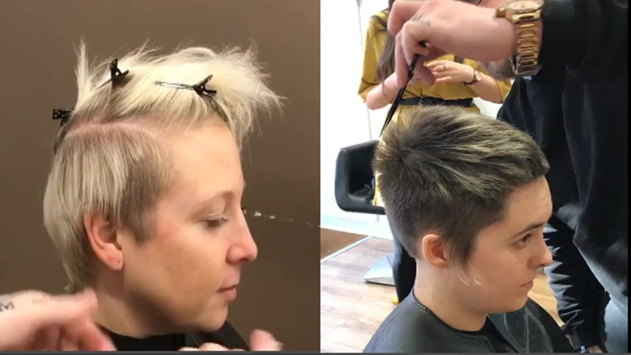 Pixie Haircut With Undercut – Short Undercut Pixie Hairstyles For Throughout Current Undercut Pixie Hairstyles (View 8 of 15)