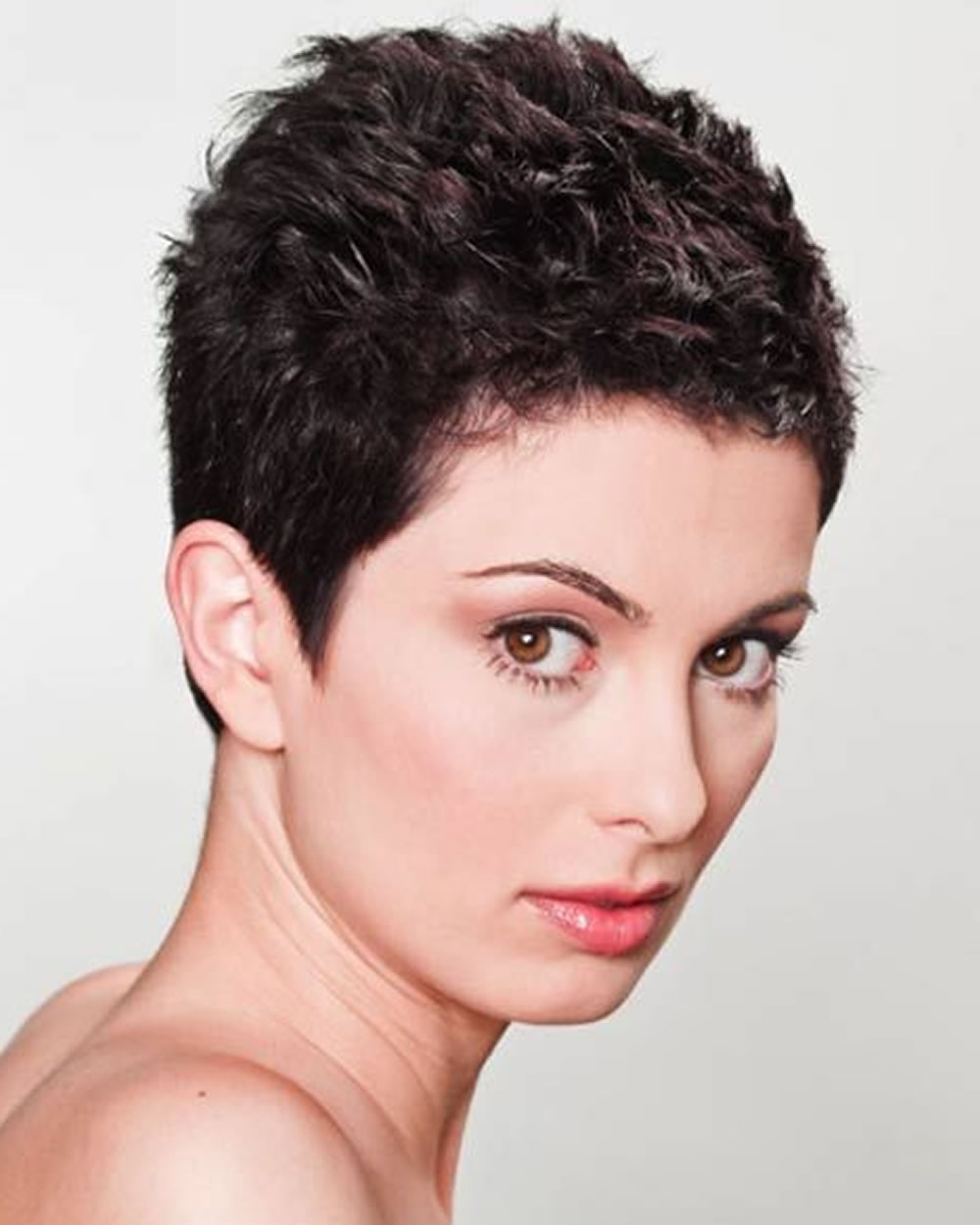 Pixie Haircuts For 2018 & Pixie Short Hairstyle Ideas For Most Current Pixie Hairstyles For Curly Hair (View 15 of 15)