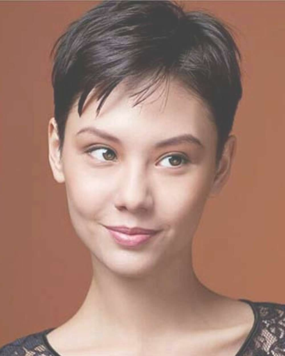 Quite good asian pixie cut share your