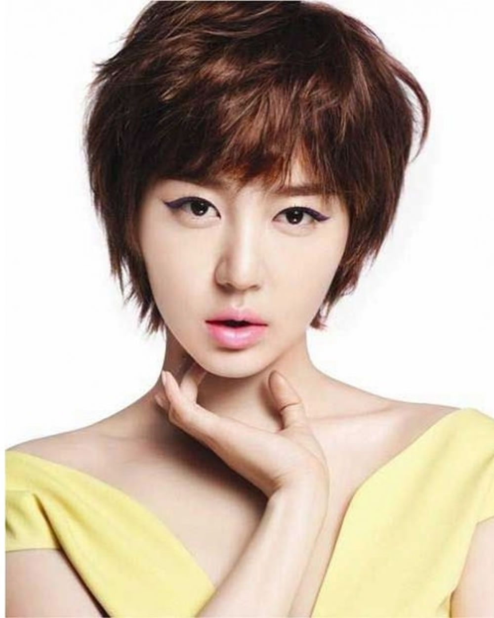 Pixie Haircuts For Asian Women | 18 Best Short Hairstyle Ideas Inside Most Recently Pixie Hairstyles For Asian Round Face (View 6 of 15)