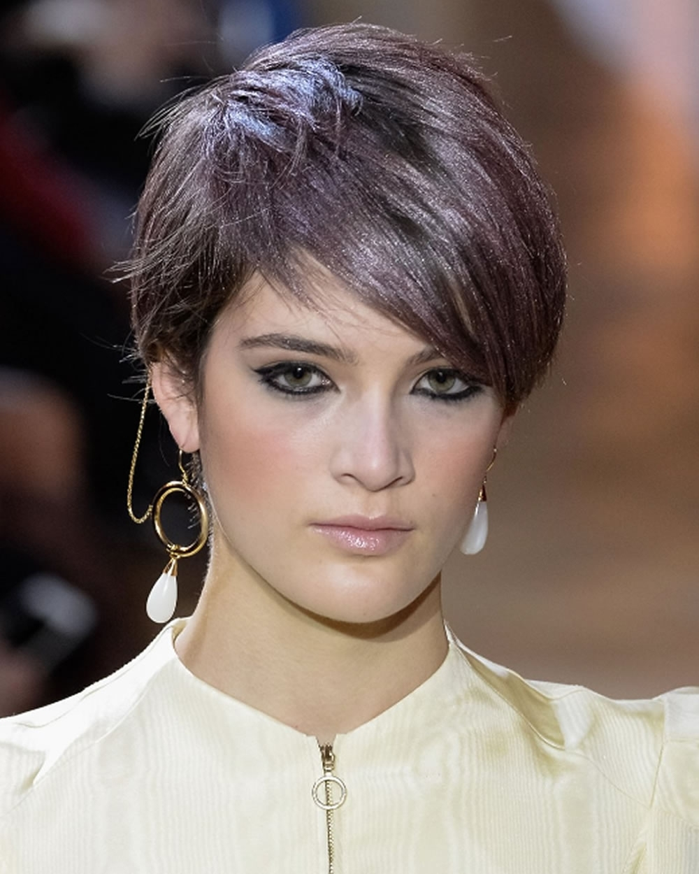 Pixie Haircuts For Fine Hair 2018 2019 : Curly, Wavy, Straight Pertaining To Most Recently Pixie Hairstyles For Straight Hair (View 8 of 15)