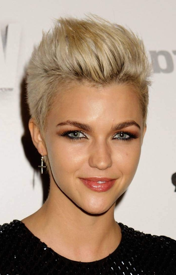 Pixie Haircuts For Heart Shaped Faces Within 2018 Pixie Hairstyles For Heart Shaped Face (View 6 of 15)
