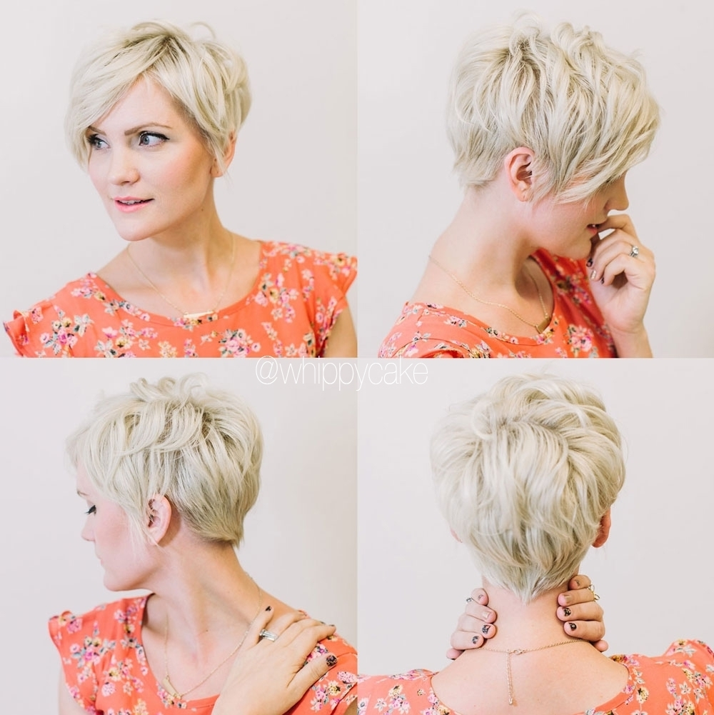 Pixie Haircuts Front And Back View Tumblr – Hairstyle Picture Magz Throughout Most Popular Pixie Hairstyles Front And Back (View 6 of 15)