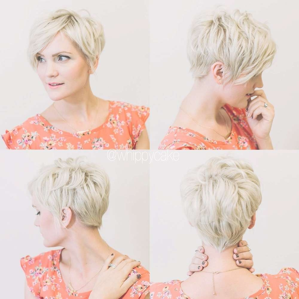 Pixie Haircuts Front And Back View Tumblr – Hairstyle Picture Magz Within Newest Back View Of Pixie Hairstyles (View 15 of 15)