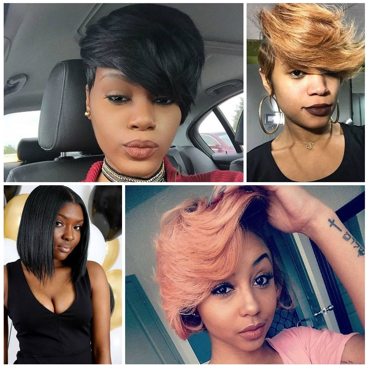 Pixie Hairstyle For Black Women 2017 Black Women Hairstyles In Newest Pixie Hairstyles For Black Women (View 14 of 15)