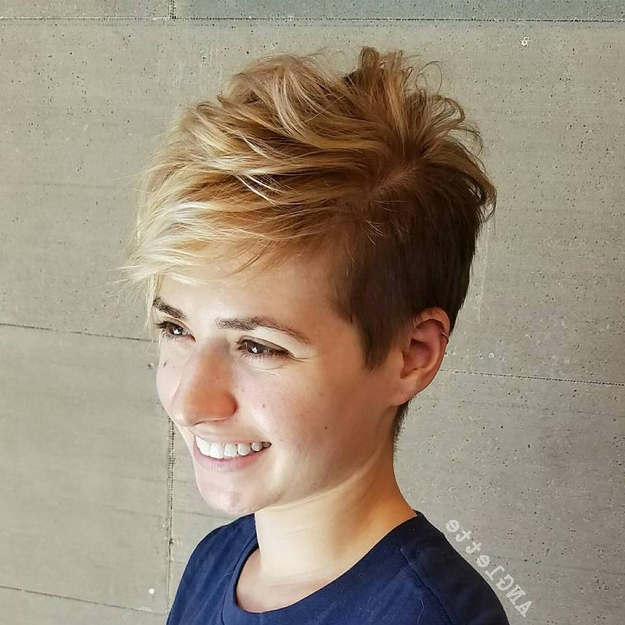 Pixie Hairstyles And Haircuts In 2018 — Therighthairstyles In Most Up To Date Longer Pixie Hairstyles (View 15 of 15)