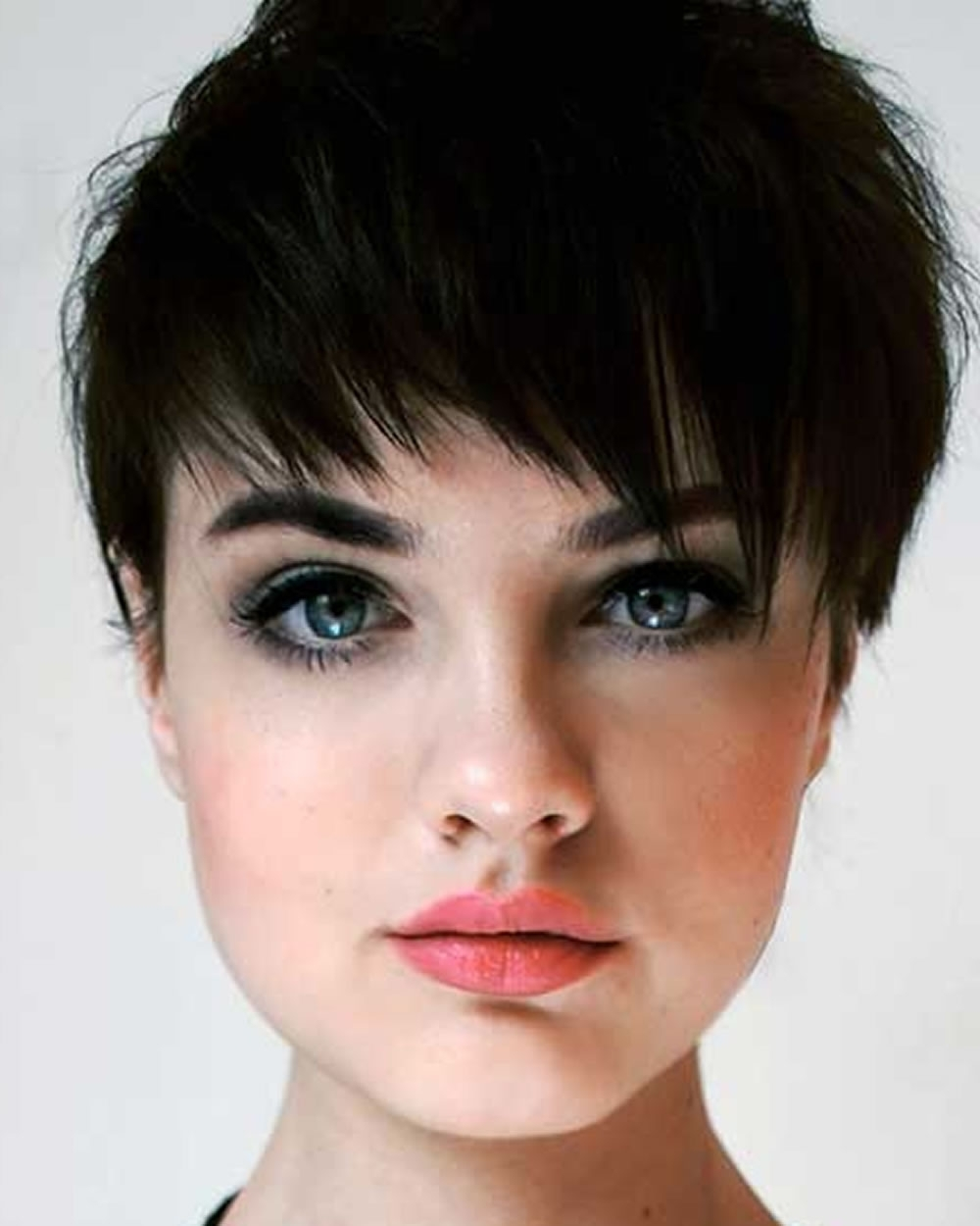Pixie Hairstyles Fine Hair For Round Face 2018 2019 | Page 4 Of 8 Within Current Pixie Hairstyles On Round Faces (View 6 of 15)