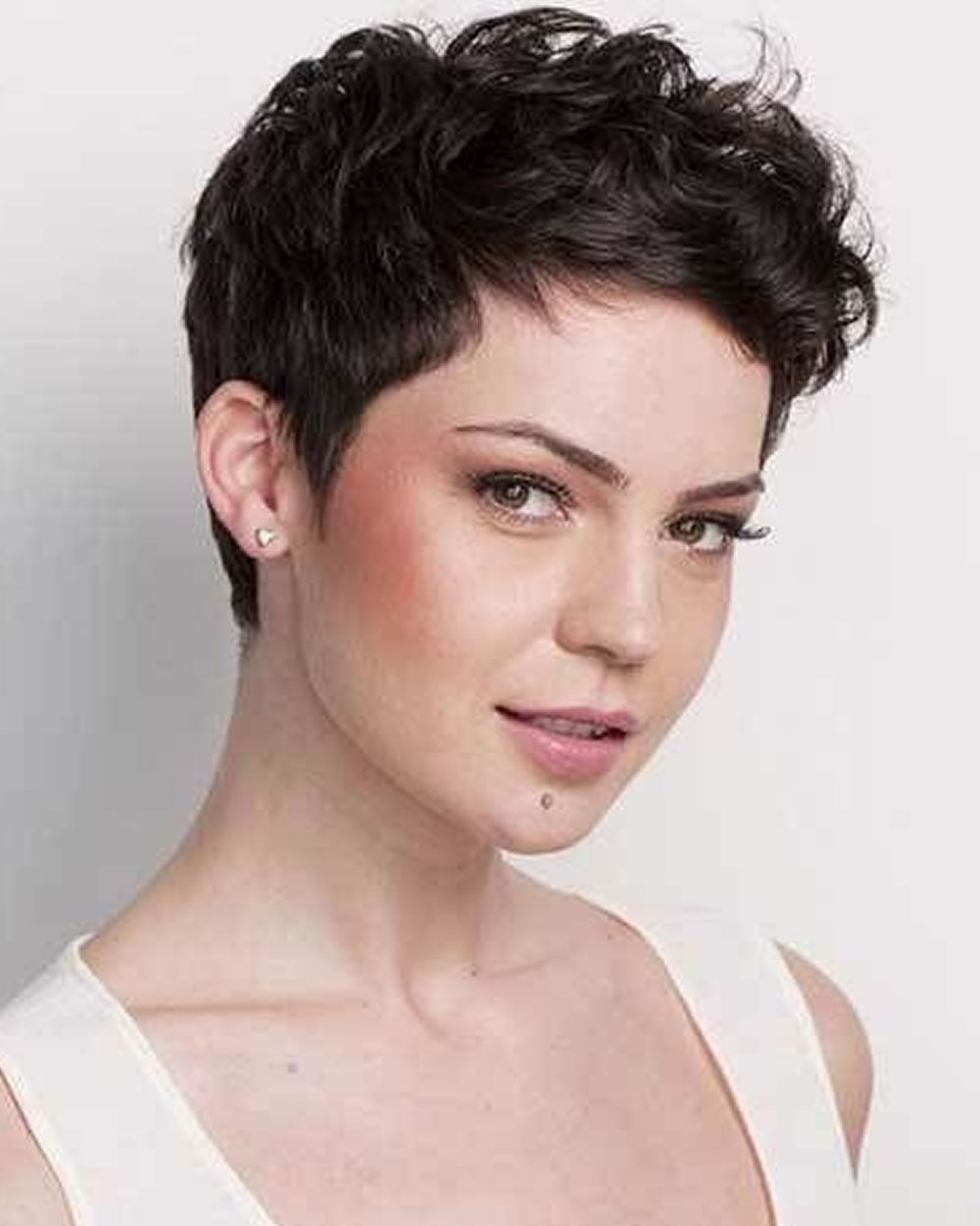 Pixie Hairstyles Fine Hair For Round Face 2018 2019 | Page 5 Of 8 Pertaining To Most Popular Pixie Hairstyles For Fat Faces (View 8 of 15)