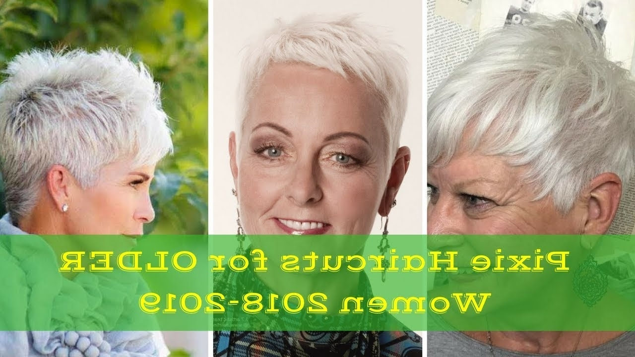 Pixie Hairstyles For Older Women 2017 – 2018 | Styling Pixie Regarding Newest Pixie Hairstyles For Older Women (View 3 of 15)