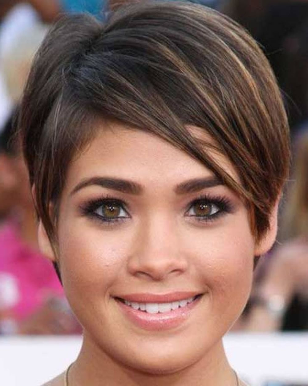 Pixie Hairstyles For Round Face And Thin Hair 2018 | Page 6 Of 8 Pertaining To Most Popular Pixie Hairstyles For Round Faces (View 5 of 15)