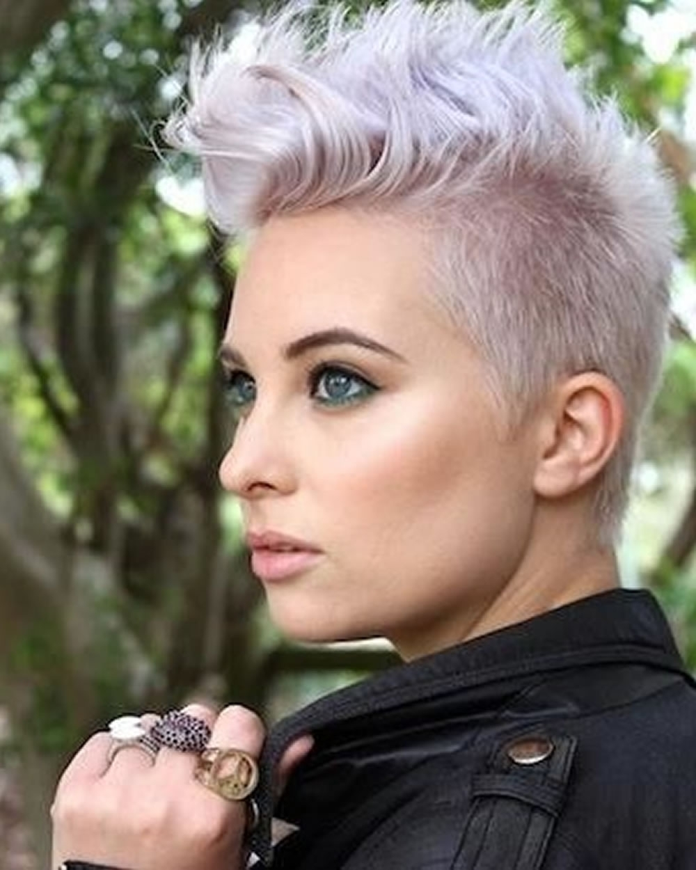 Pixie Hairstyles For Round Face And Thin Hair 2018 | Page 8 Of 8 Regarding Most Recent Punk Pixie Hairstyles (View 5 of 15)