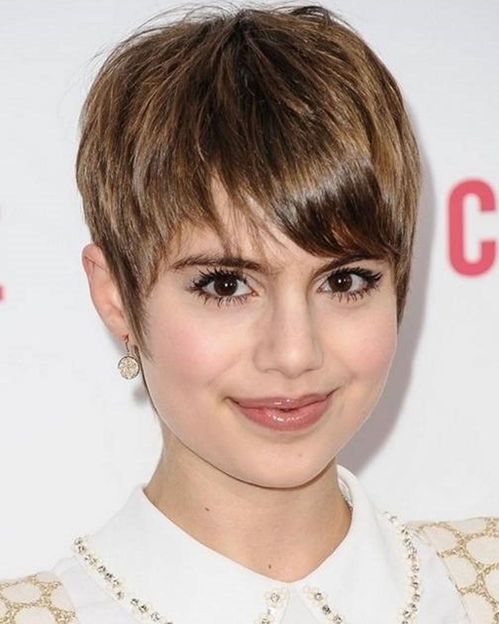 Pixie Hairstyles For Round Face And Thin Hair 2018 | Page 8 Of 8 Throughout Most Recently Pixie Hairstyles For Round Faces (View 10 of 15)