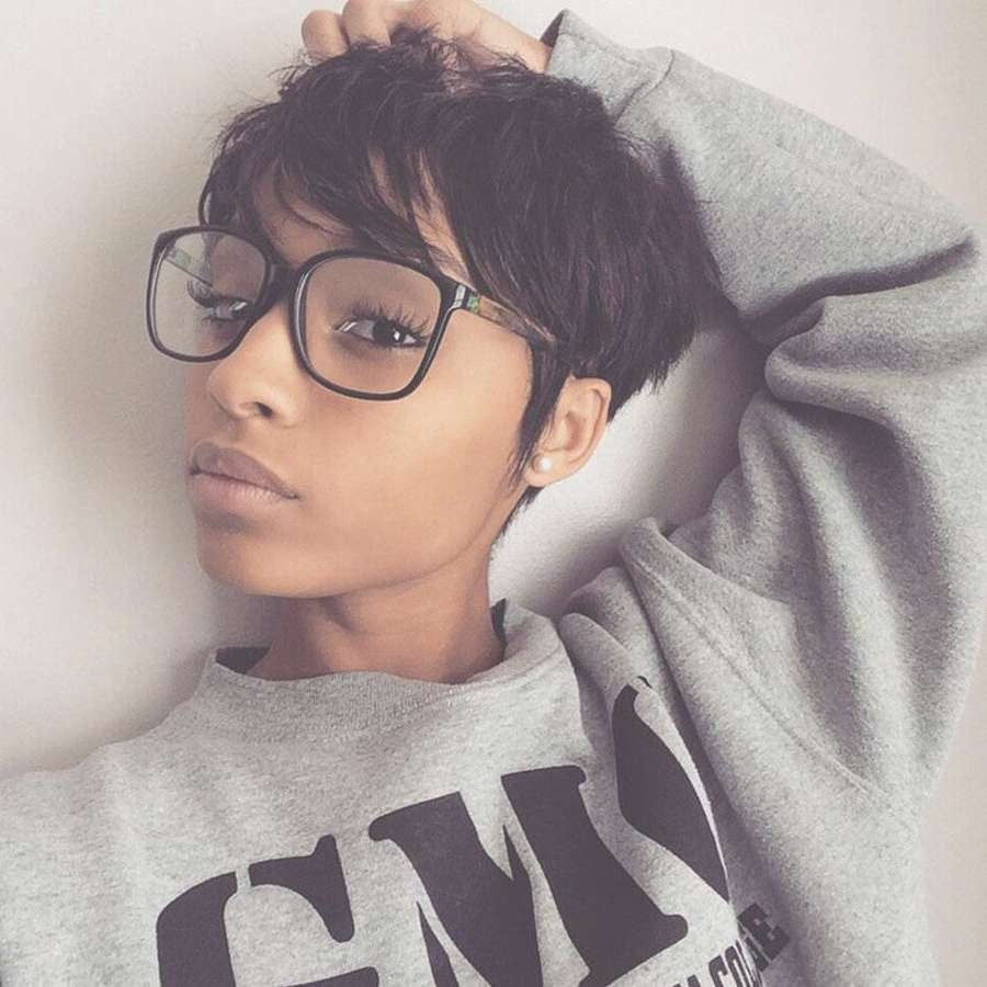 Pixie Hairstyles On Black Women | Hairstyles Ideas In Best And Newest Black Women Pixie Hairstyles (View 2 of 15)
