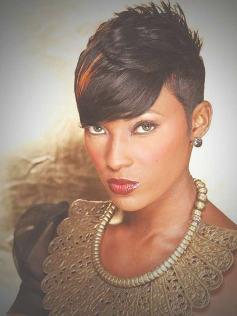 Pixie Hairstyles On Black Women – Hairstyles Ideas Regarding Newest Black Women Short Pixie Hairstyles (View 4 of 15)