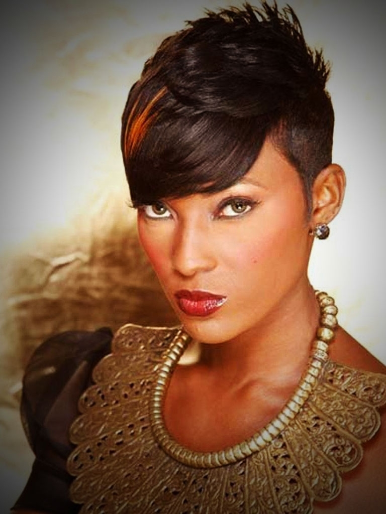 Pixie Hairstyles On Black Women – Hairstyles Ideas With Most Popular Pixie Hairstyles For Black Women (View 7 of 15)