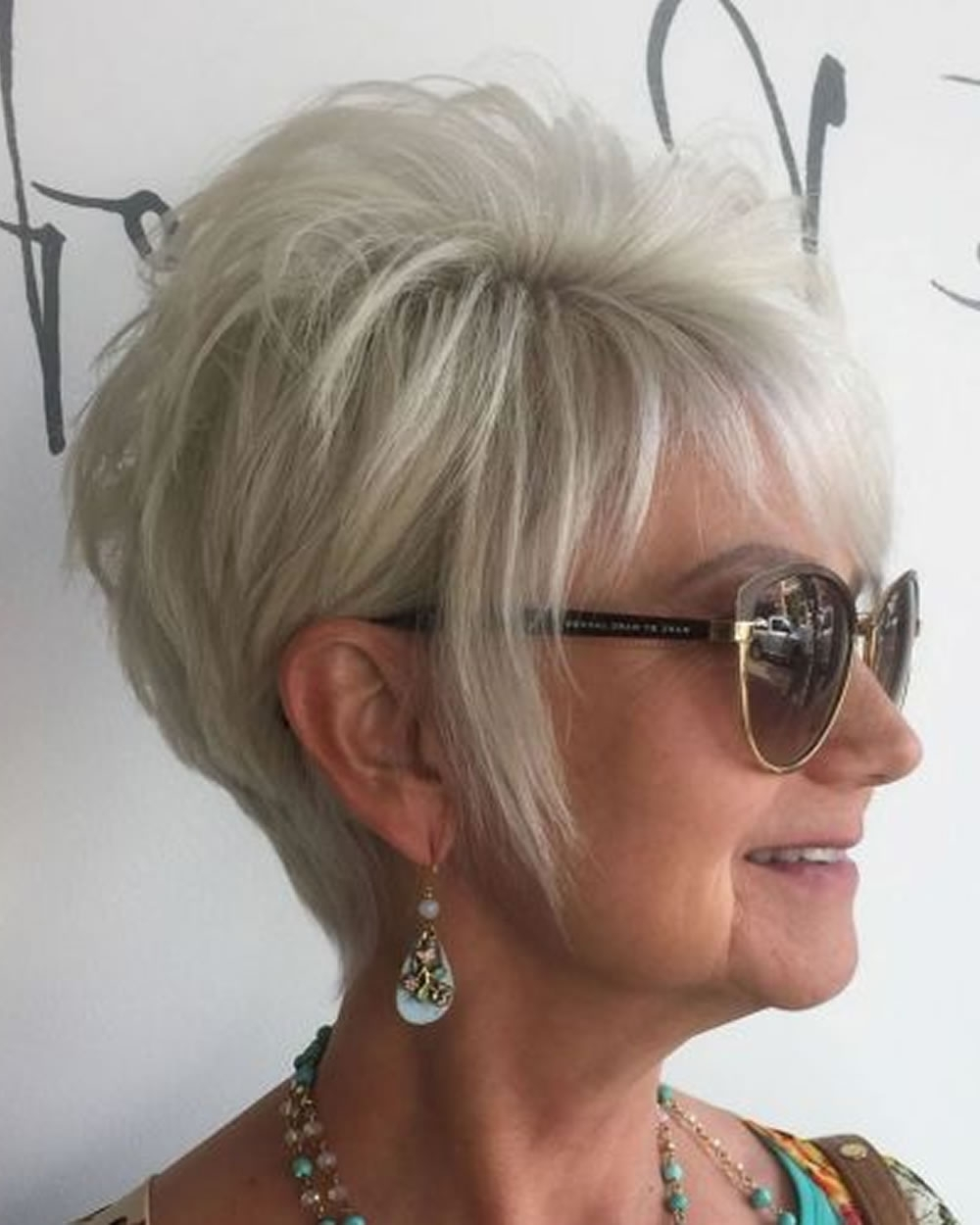 Pixie Short Haircuts For Older Women Over 50 & 2018 2019 Short Regarding Newest Pixie Hairstyles For Women Over (View 7 of 15)