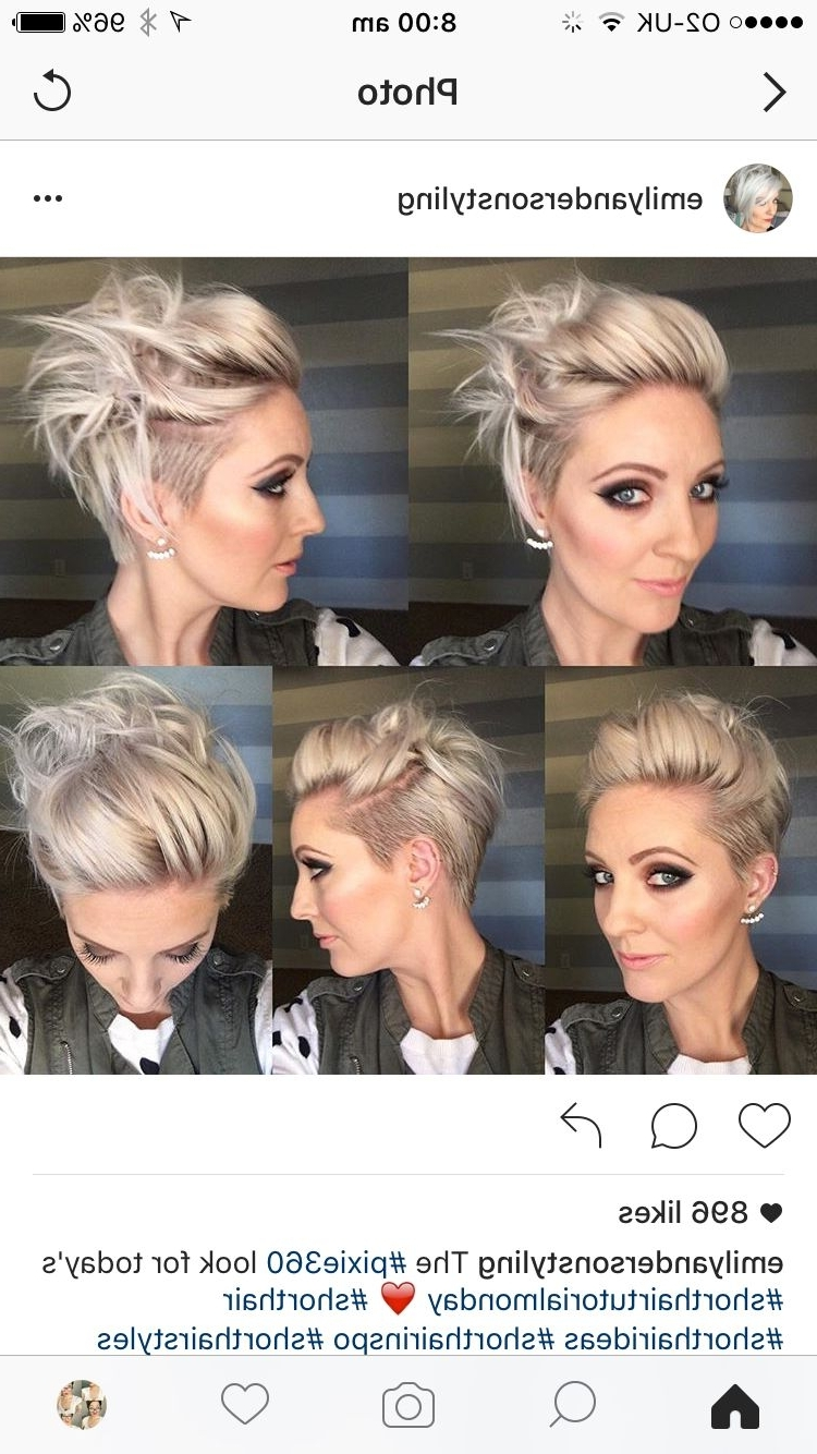 Pixie Stylin   Styling Short Hair   Pinterest   Pixies, Hair Cuts With Newest Undercut Pixie Hairstyles (View 13 of 15)