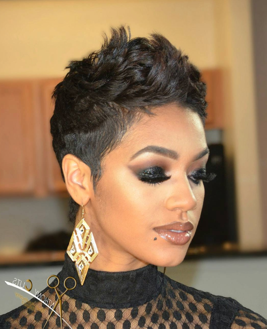 Featured Photo of Pixie Hairstyles For Black Hair