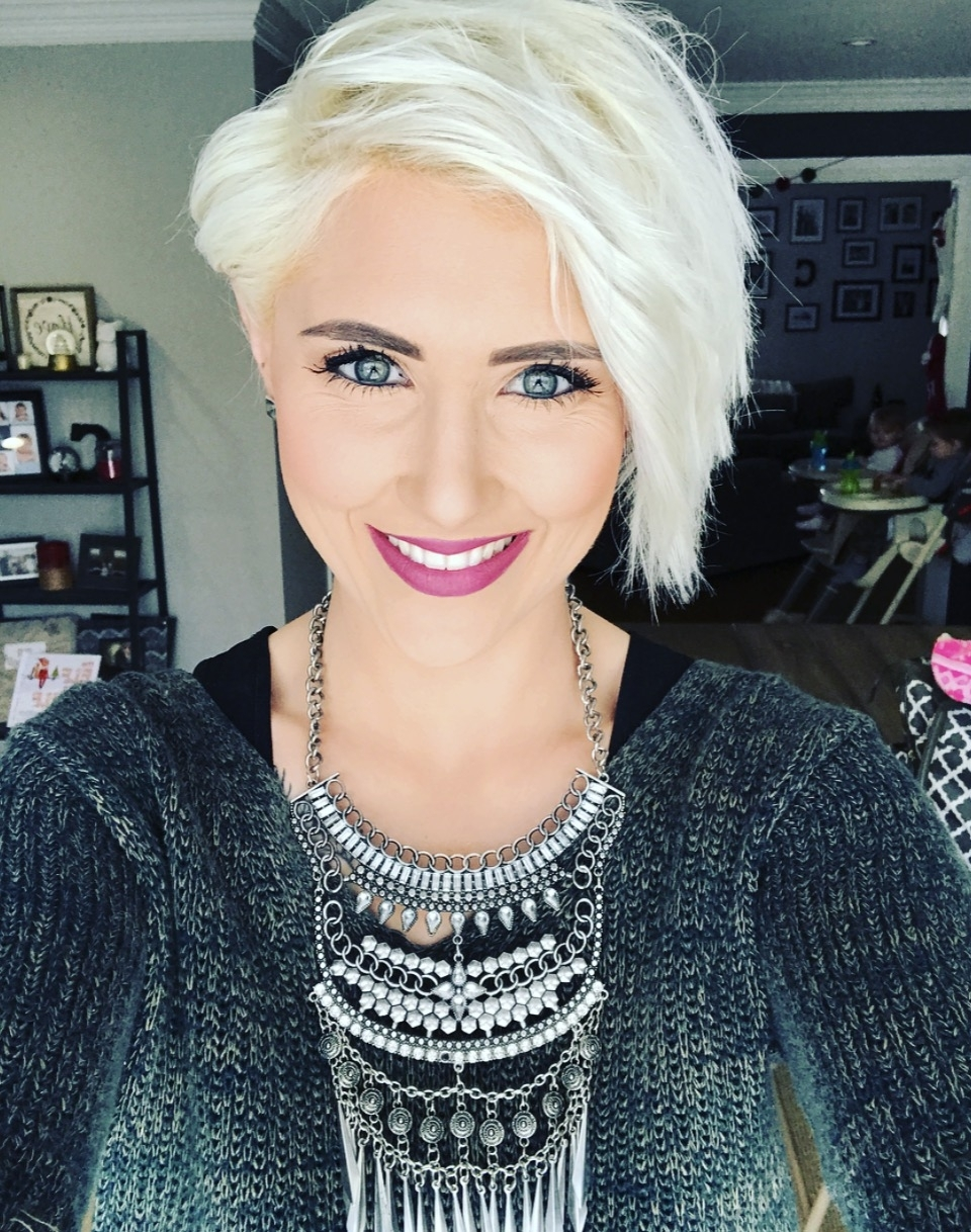 Featured Photo of Platinum Pixie Hairstyles